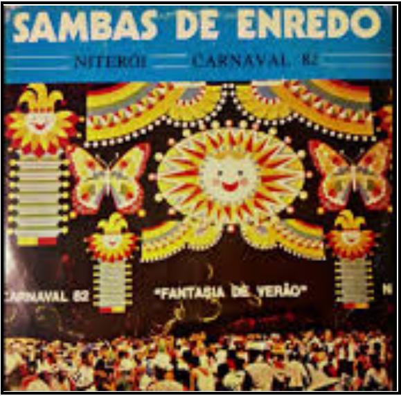 LP de 1982 - Acervo de João Perigo