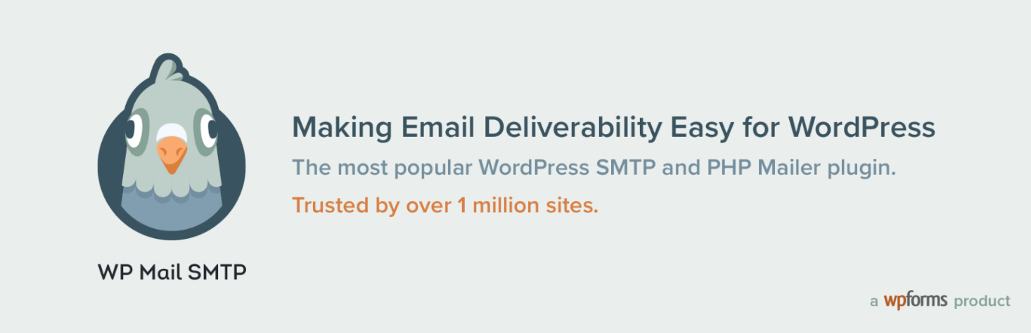 WP Mail SMTP plugin header