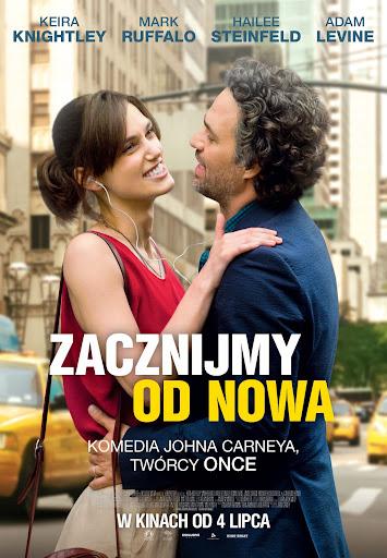 Polski plakat filmu 'Zacznijmy Od Nowa'