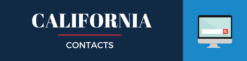 California Sales Tax Contacts