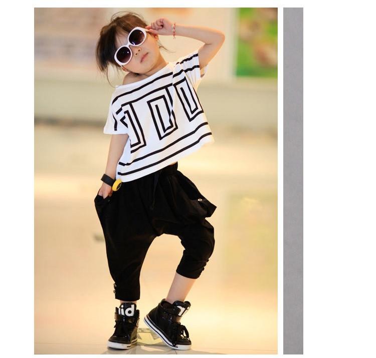 Spodnie hip hop dla dziewczynek