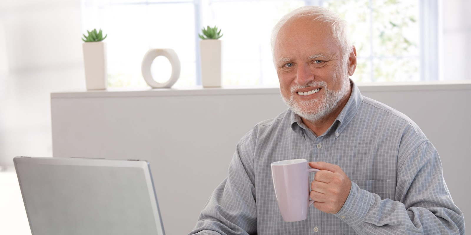 hide the pain harold free stock image