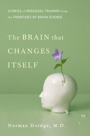 illustration of book cover 'The Brain that Changes Itself'