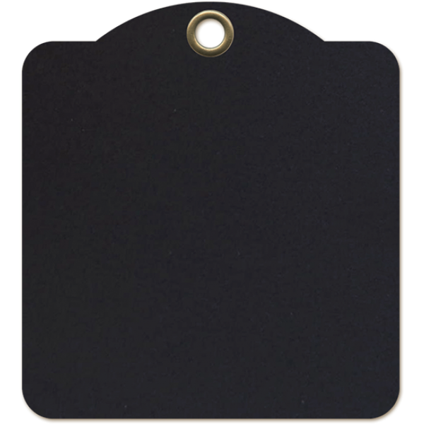 Staples - Square Tags - Black
