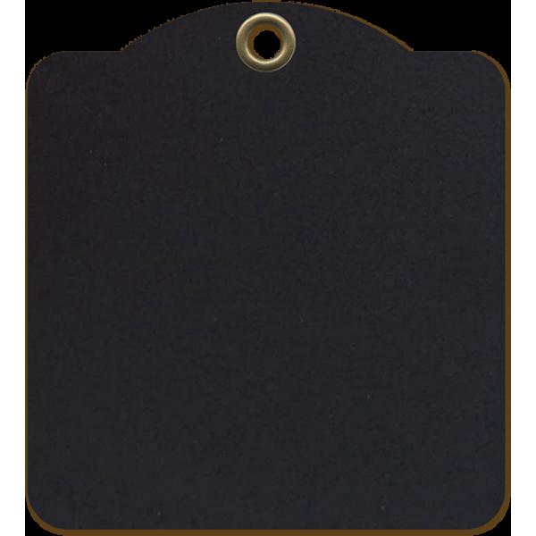 Staples - Square Tags - Black