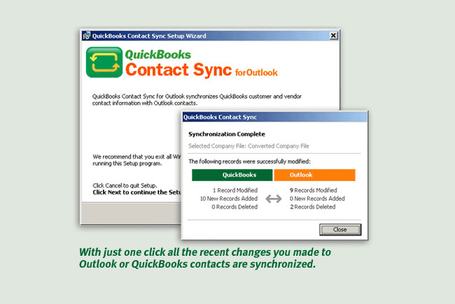 sync Microsoft Outlook Email with QuickBooks