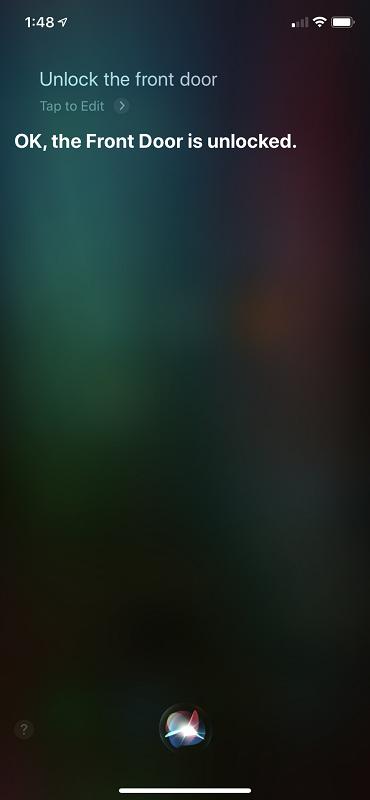 Siri Unlock UI