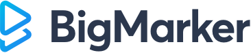 BigMarker logo webinar tool