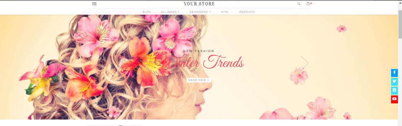 Beaute - Cosmetic opencart theme: