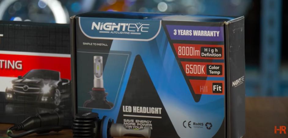NightEye Headlight Bulbs