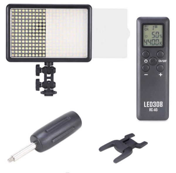 LED Light (Bescor): Ep180 Field-Pro Lighting