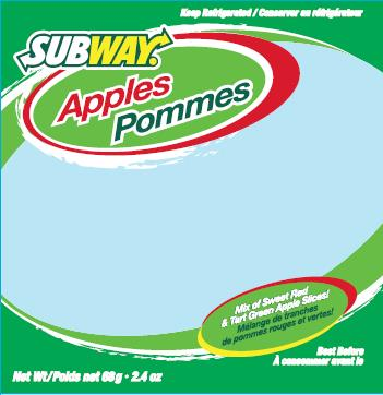 Subway - Apples - 68 gram