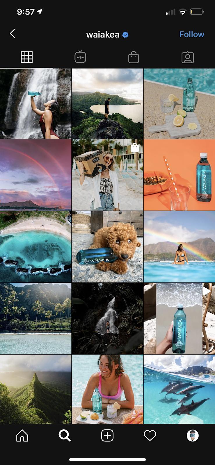 dreamy instagram theme