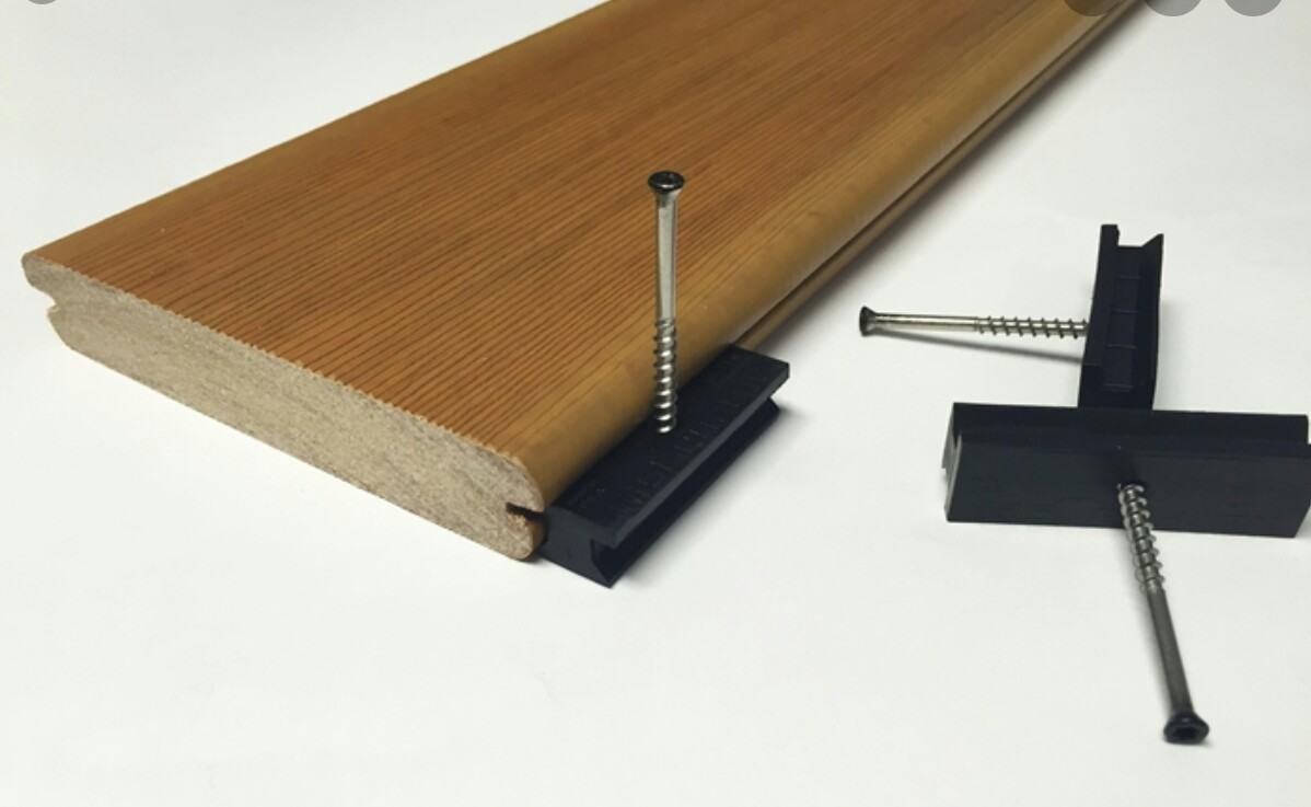 screw into decking