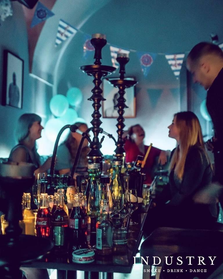 Industry Shisha Lounge Prague