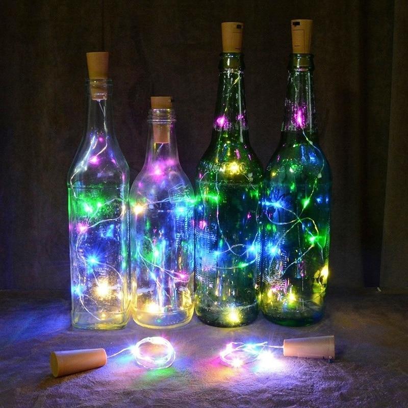 LED Wine Bottle Cork Lights/ Wire String Lights 1M/2M/3M