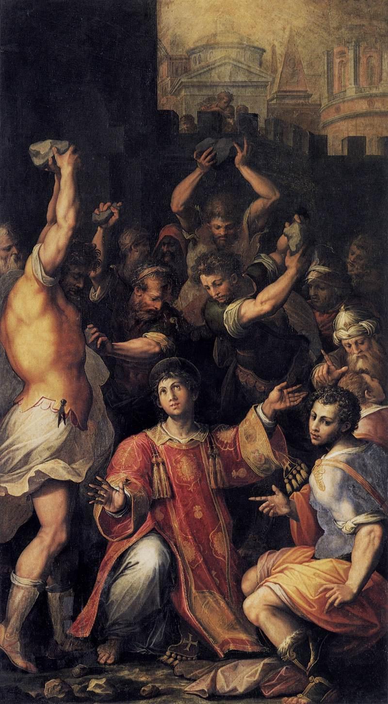 Giorgio Vasari Martyrdom of St Stephen.jpg