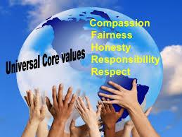 Billedresultat for universal values