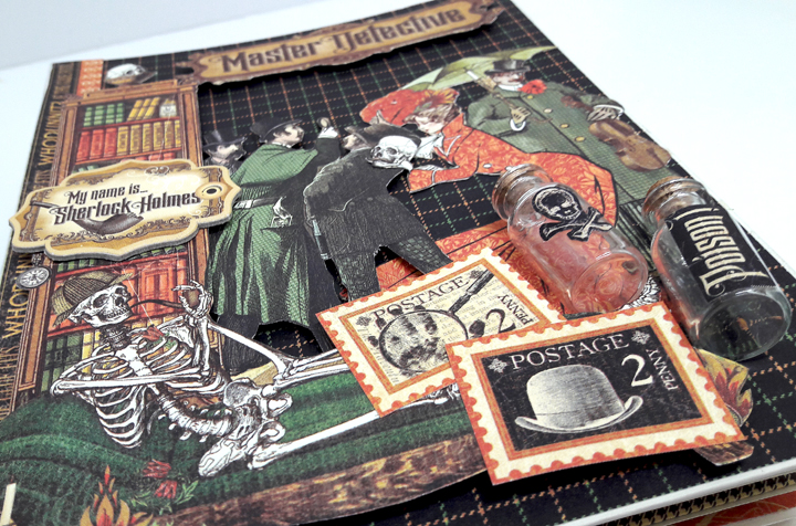 Master Detective Mini Album, by Einat Kessler, product by Graphic 45, photo1.jpg