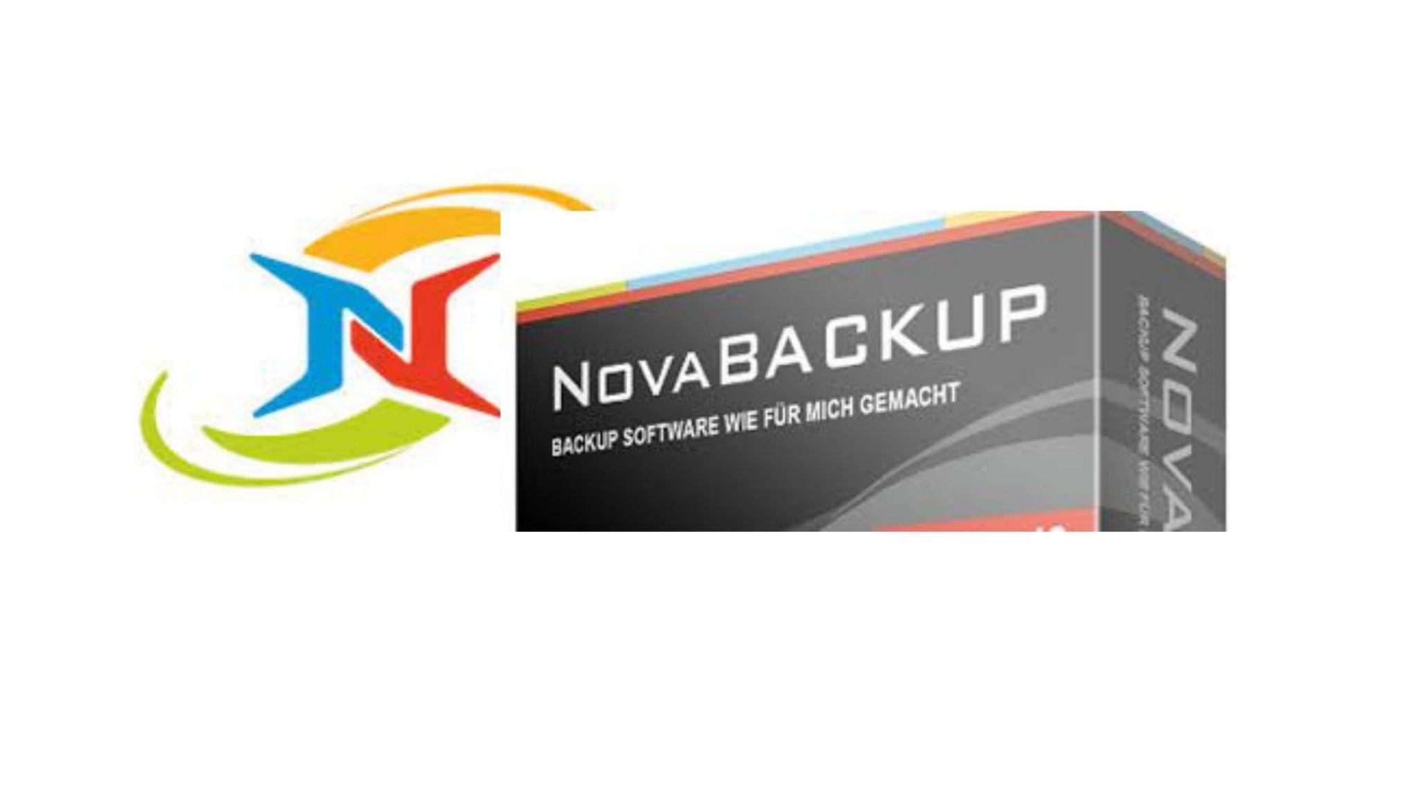 Nova Backup - Backup software