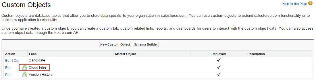 Cloud Files for Custom Objects - DocuVault Setup Guide - Confluence