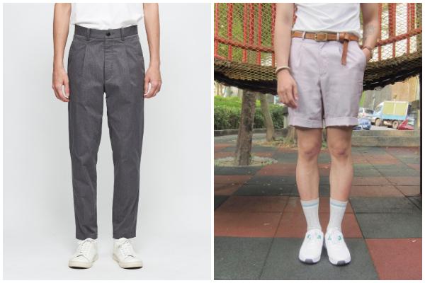 穿搭 褲子 比例