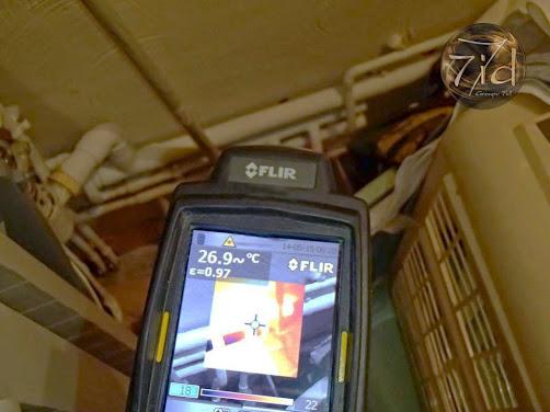 Recherche par caméra thermique