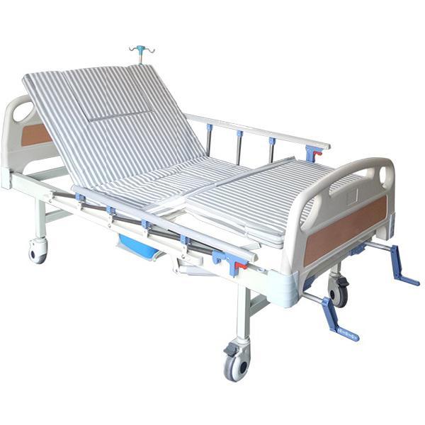 Giường y tế 3 tay quay 4 chức năng NKT – DCN03G - Giường Bệnh Y Tế