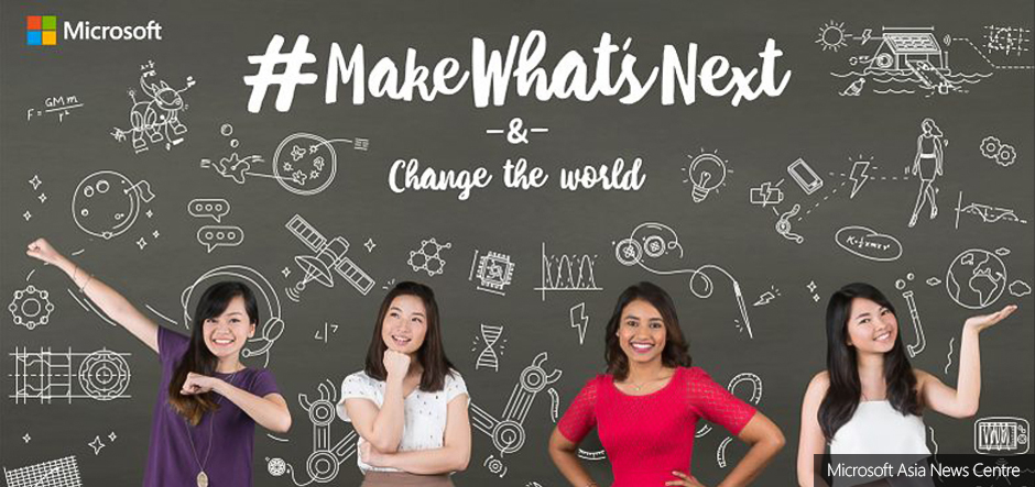 Microsoft's Make What's Next Campaign | Influencer Marketing Examples on Afluencer