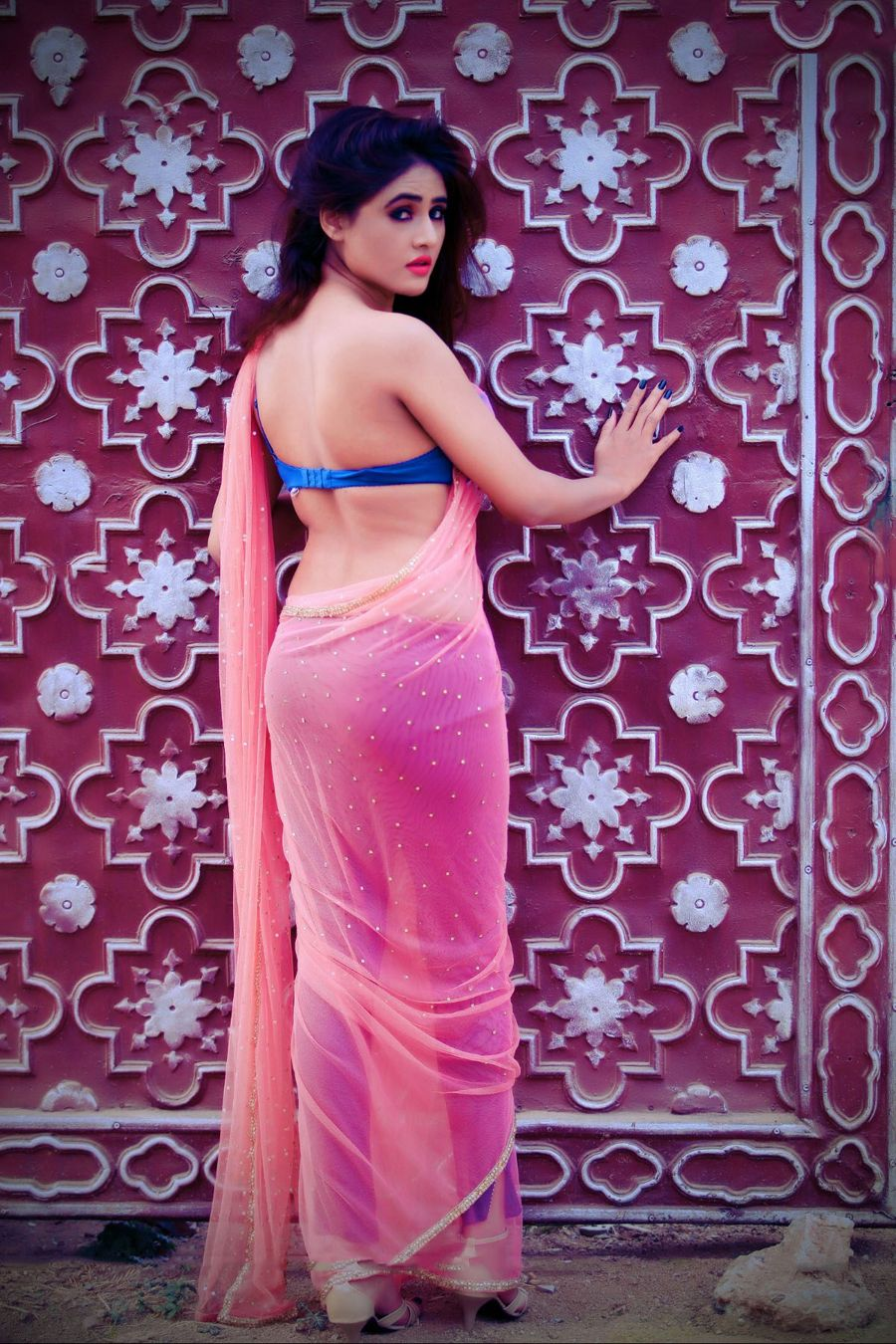 SONY CHARISHTA sexy in pink