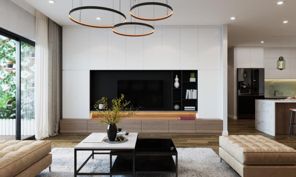 Thiết kế nhà ở sang trọng và ấm cúng