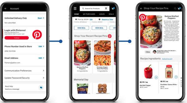 Pinterest Makes Recipe Pins Shoppable