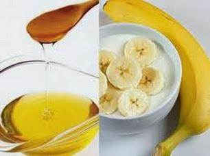 Làm trắng da với mặt nạ mật ong và chuối cho làn da trắng mịn