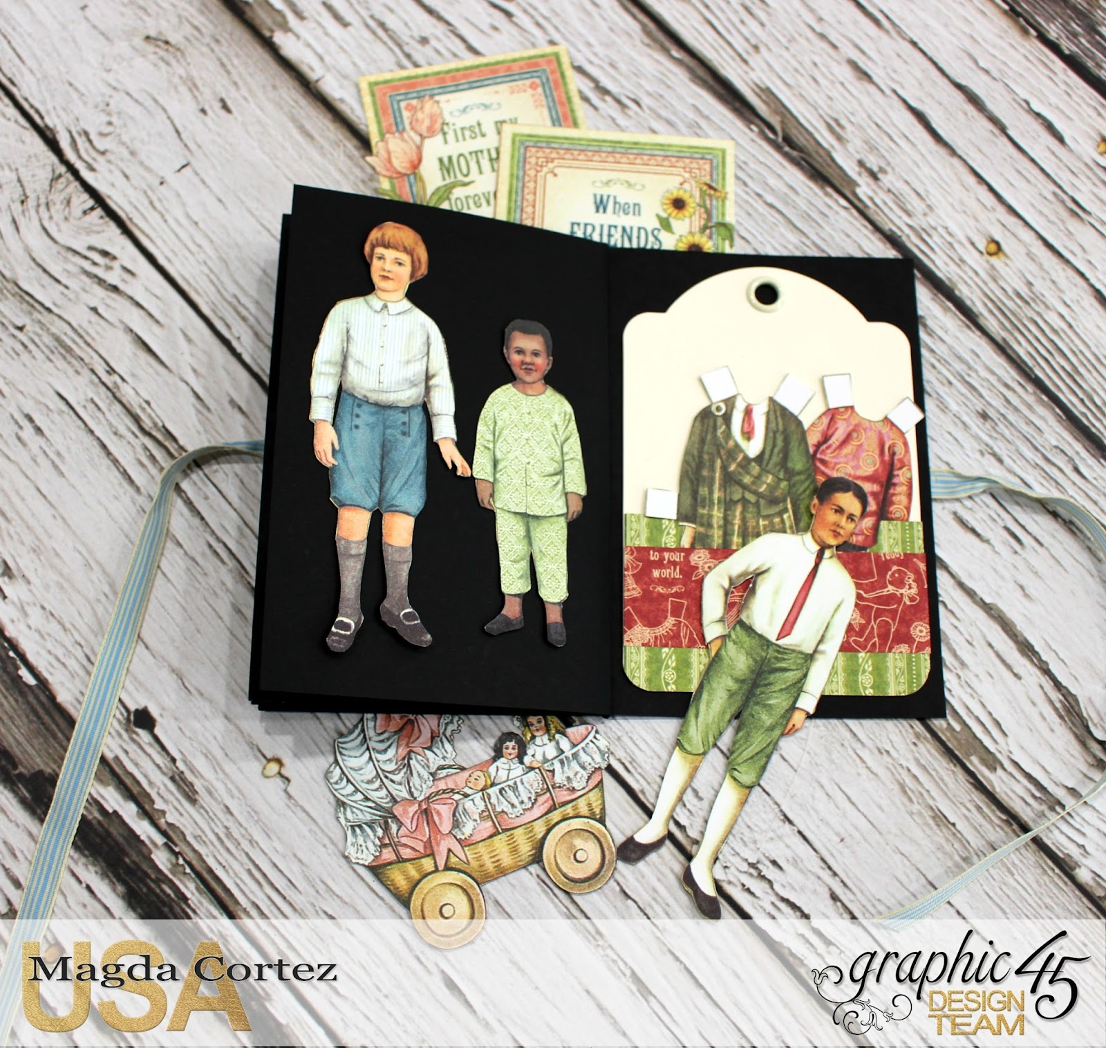 Penny's Color My World - Penny's Family Paper Doll By Magda Cortez, Product of Graphic 45, Photo 09 of 11 with Tutorial.jpg