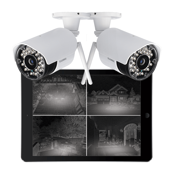 rest assured with wireless night vision security cameras