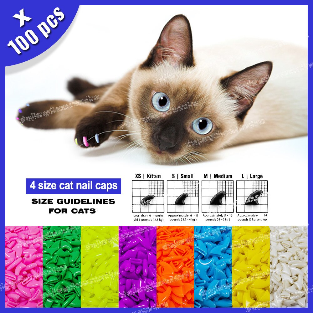 Colorful Nail Protector For Cats