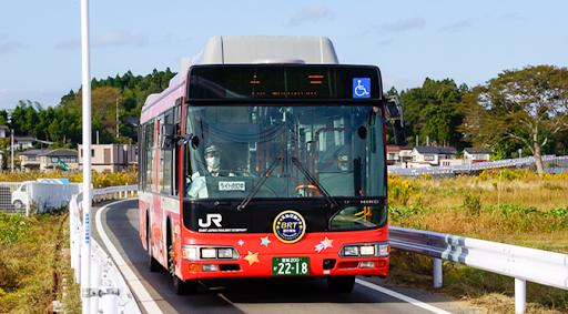 JR気仙沼線BRTに乗ってみました 気仙沼 -> 柳津鉄道旅のガイド | 鉄道旅のガイド