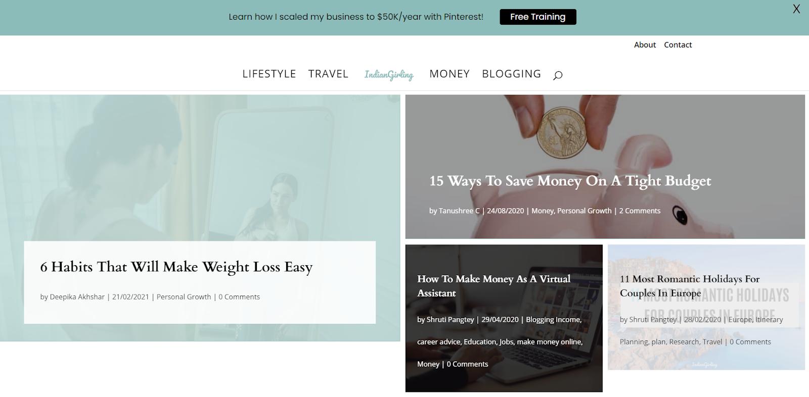 Passive income - blogging ad revenue