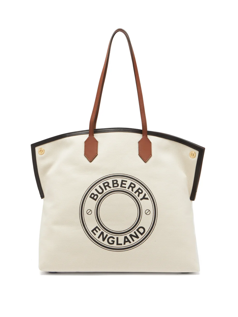 burberry designer beach tote
