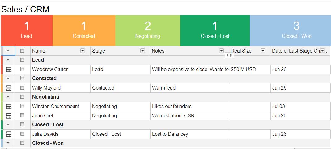 business development pipeline spreadsheet