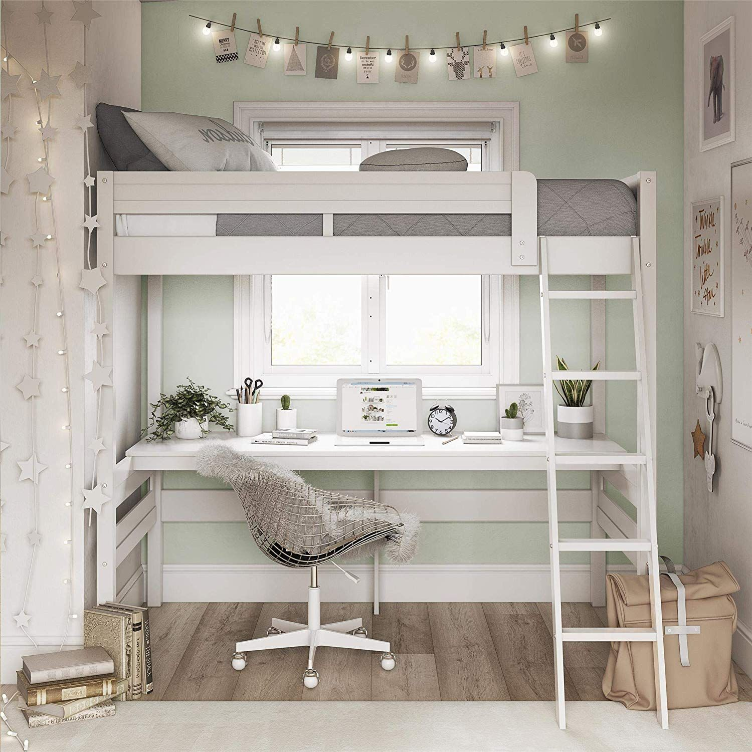 Save Space with a Bunk Bed for Teen Girl
