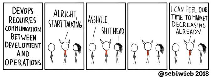 DevOps Comic