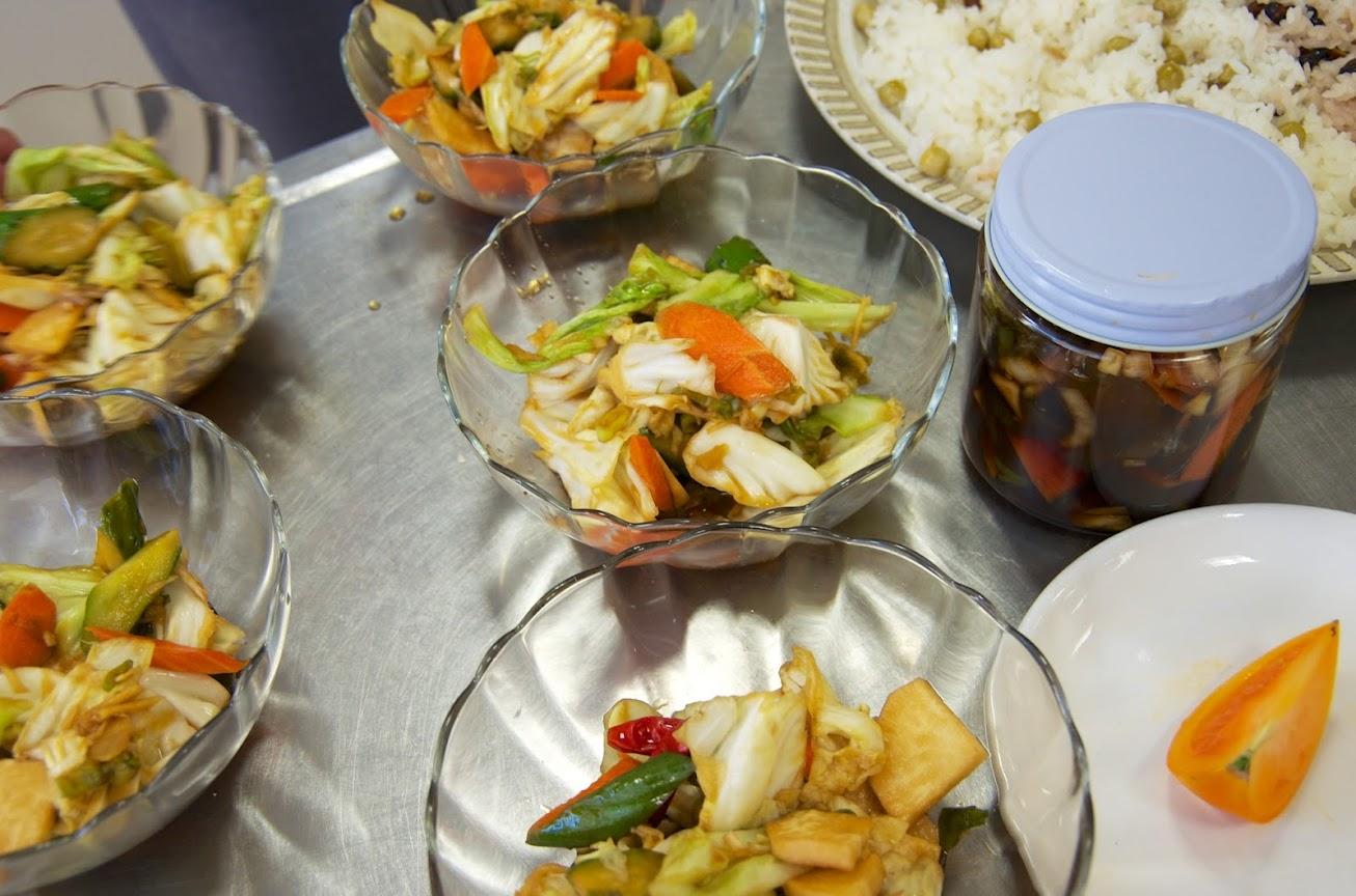 秋野菜の醤油漬け(元気漬け)