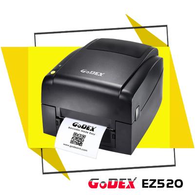 Xuất xứ Đài Loan, thiết kế nhỏ gọn, đẹp mắt, chi phí đầu tư hợp lý, máy in mã vạch GoDEX EZ520 vô cùng thích hợp để ứng dụng tại các cửa hàng, shop