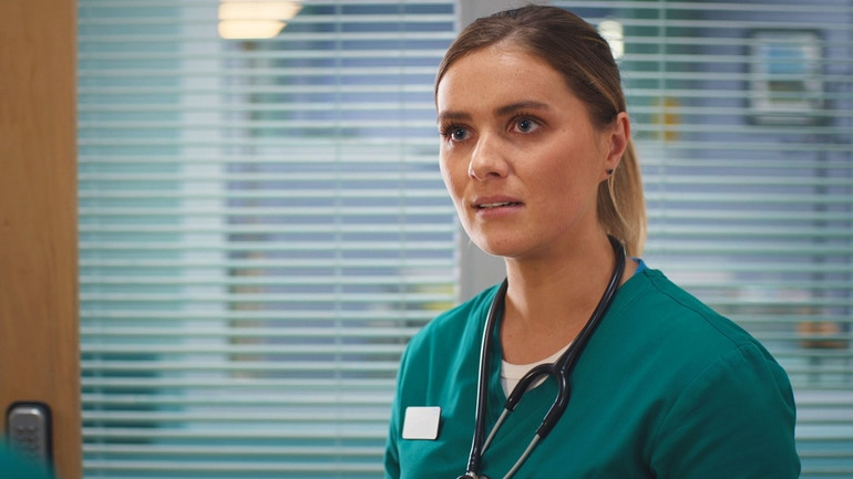 Casualty, BBC, episode review, Series 32, episode 36, Alicia, Chelsea Halfpenny