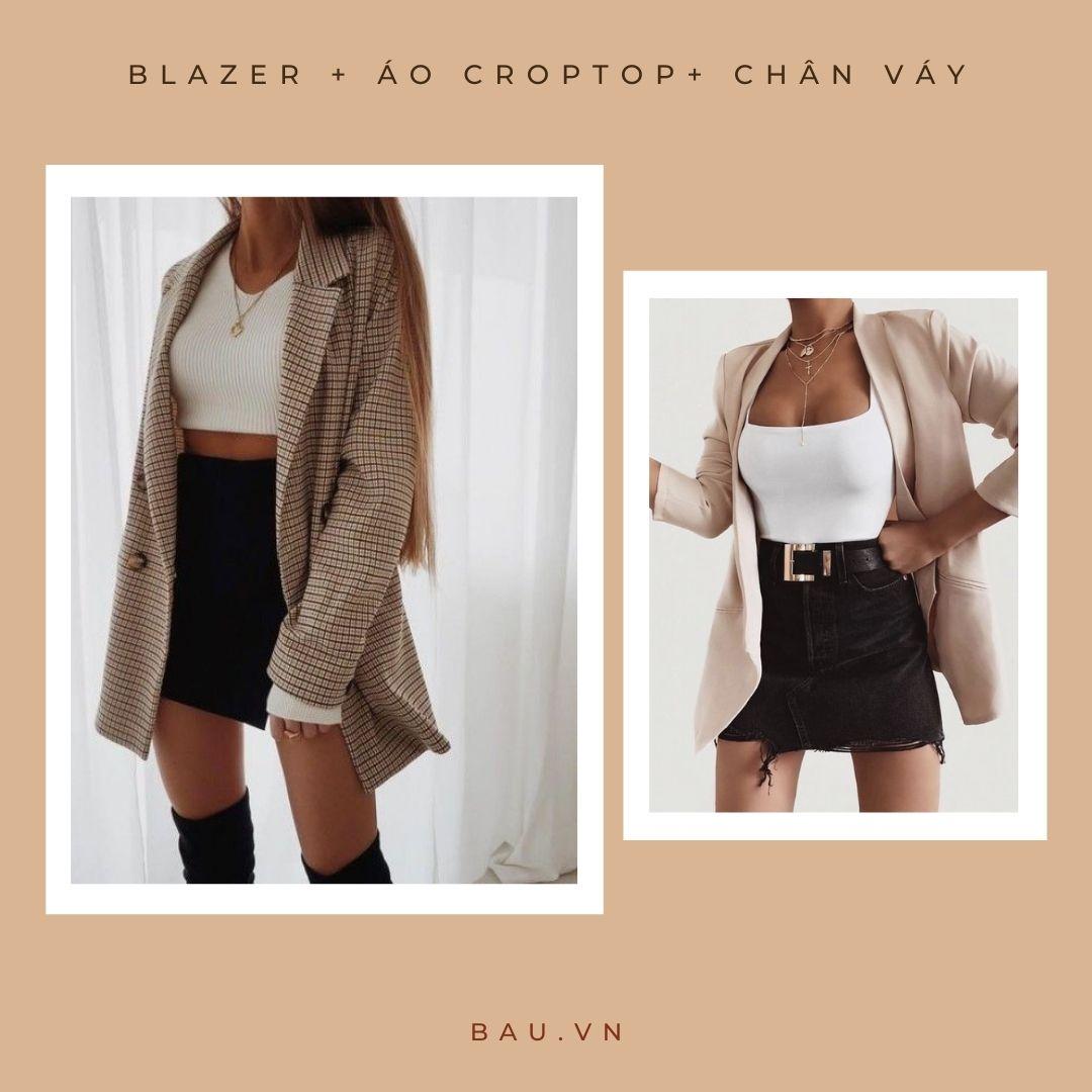 6 outfit kết hợp với blazer cho các nàng trở nên sang - xịn - mịn - ảnh 6