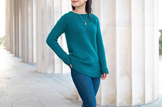 weekend snuggle crochet sweater pattern