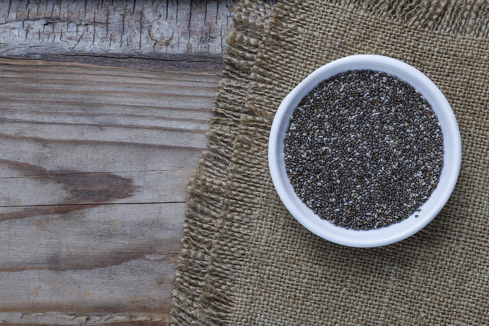 Non-meat Protein Alternatives - Chia Seeds