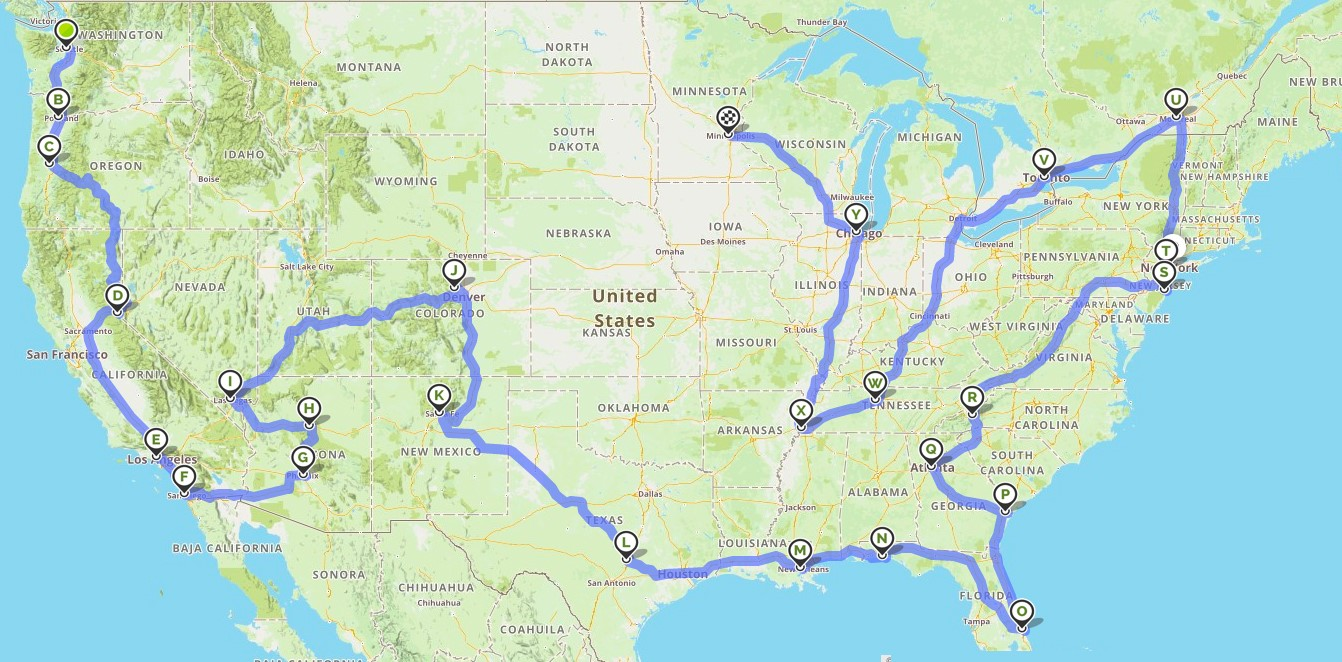 road trip for adventures and sex