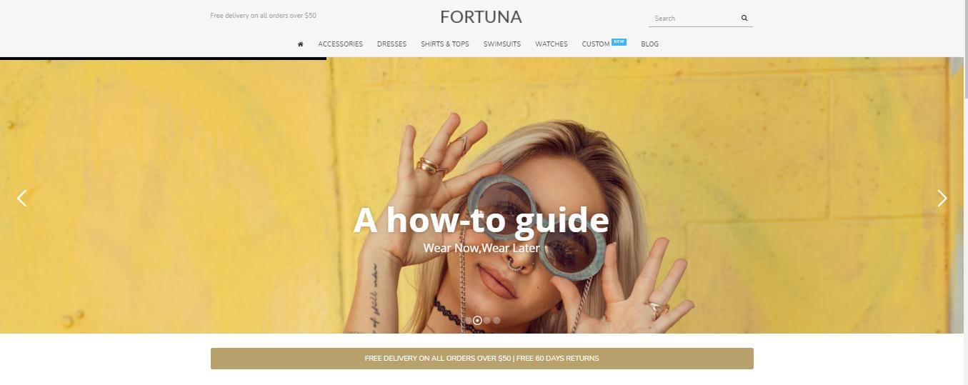 Fortuna - Opencart beauty theme